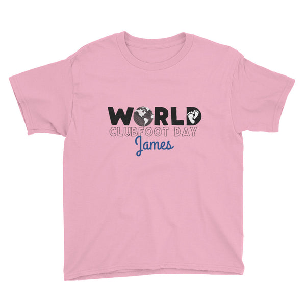 World Clubfoot Day 2020 - Youth Short Sleeve T-Shirt