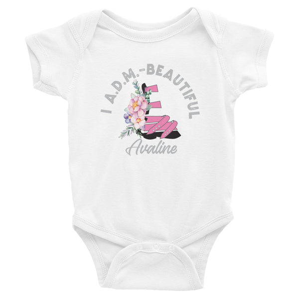 I ADM Beautiful - Customize Me - Infant Bodysuit