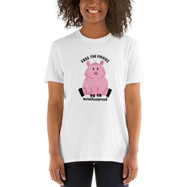 Free the Piggies - Short-Sleeve Unisex T-Shirt
