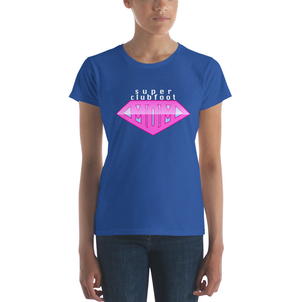Super Clubfoot Mom - Women's short sleeve t-shirt