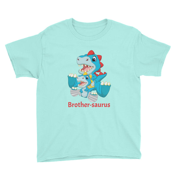 Brother-saurus - Dino Family - Casts- Youth Short Sleeve T-Shirt