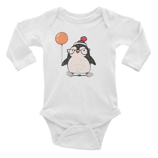 Penguin Clubfoot - Infant Long Sleeve Bodysuit