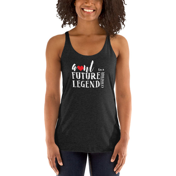 Future Legend AUNT | Clubfoot shirt  - Women's Racerback Tank