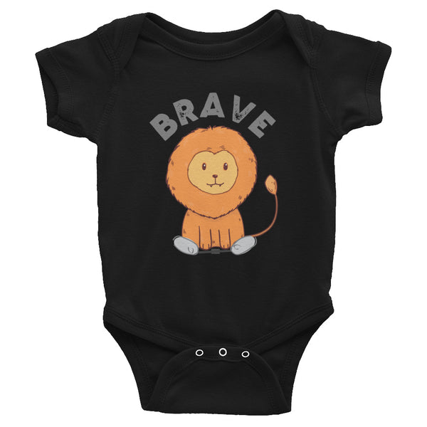 Lion Brave - Spring - Clubfoot Animal Collection - Infant Bodysuit