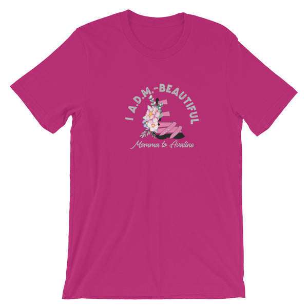 I ADM Beautiful Momma to - Customize me - Short-Sleeve Unisex T-Shirt Women's