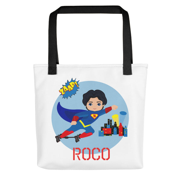 Superboy Boots & Bar - Black Hair | Tote bag | Customize Me!