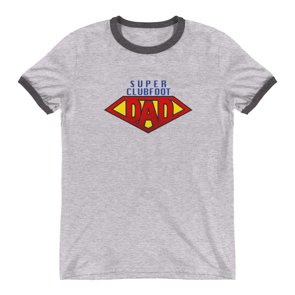 Super Clubfoot Dad - Man's Ringer T-Shirt