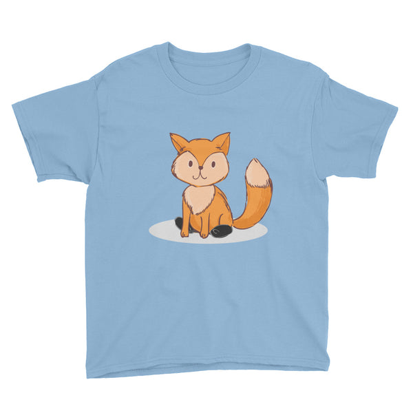 Fox - Spring - Clubfoot Animal Collection Youth Short Sleeve T-Shirt
