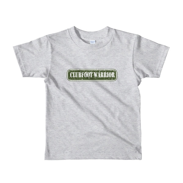 Clubfoot Warrior Boot Camp | Army Kids / Toddler Unisex shirt