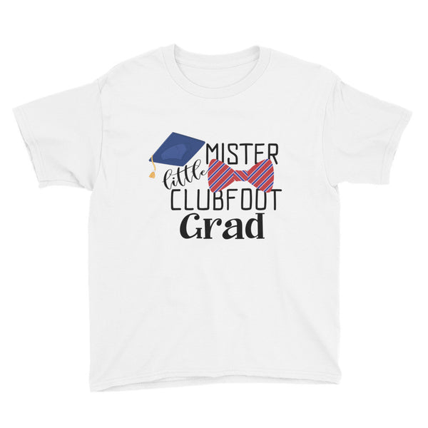 Little Mister Clubfoot Grad - Youth Short Sleeve T-Shirt