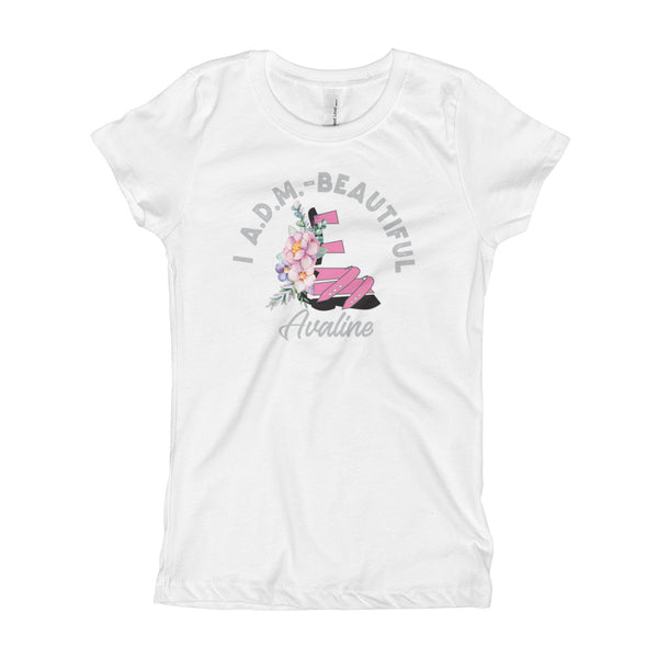 I ADM Beautiful - Customzie me - Girl's T-Shirt