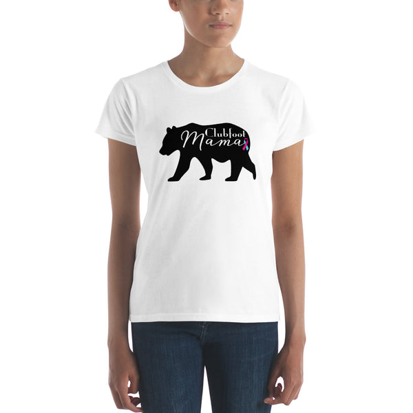 Clubfoot Mama Bear - Women's short sleeve t-shirt