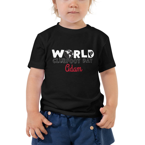 World Clubfoot Day 2020 - Toddler Short Sleeve Tee
