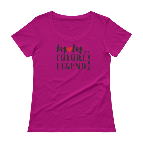Future Legend MOM - Anvil 391 Ladies Sheer Scoopneck T-Shirt with Tear Away Label