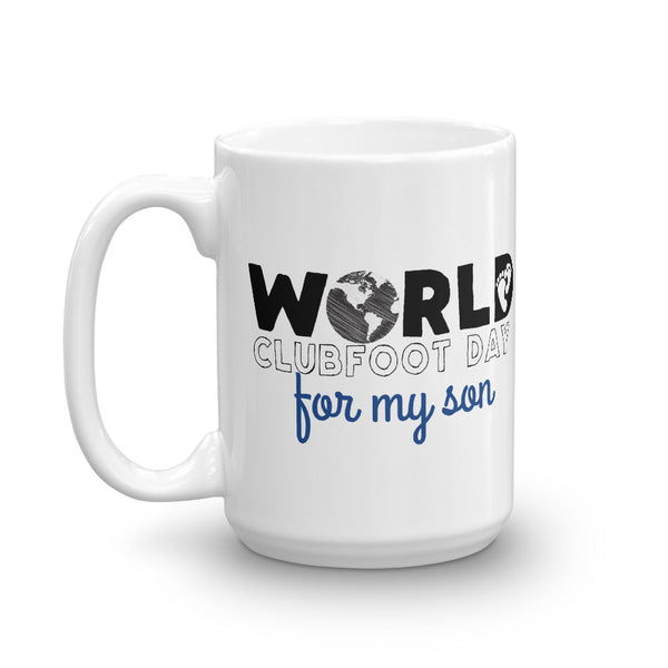 World Clubfoot Day 2020 - 15 oz Mug
