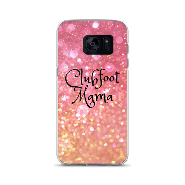 Clubfoot Mama - Rose Gold - Samsung Case - Christmas 2019