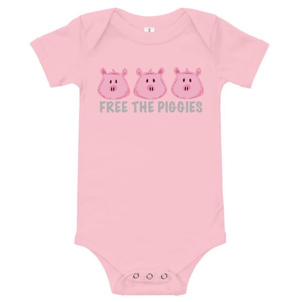 Free the Piggies - Baby Onesie