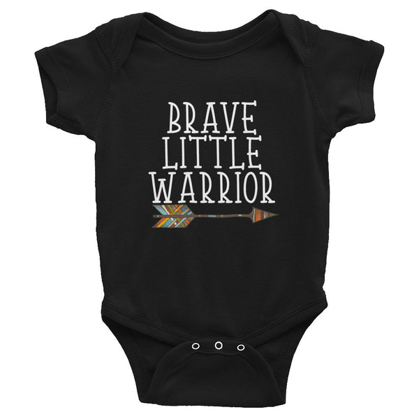 Brave Little Warrior - Infant Bodysuit