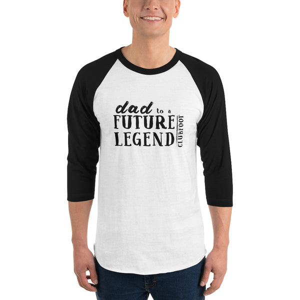 Future Legend DAD | CLUBFOOT  - 3/4 sleeve raglan shirt