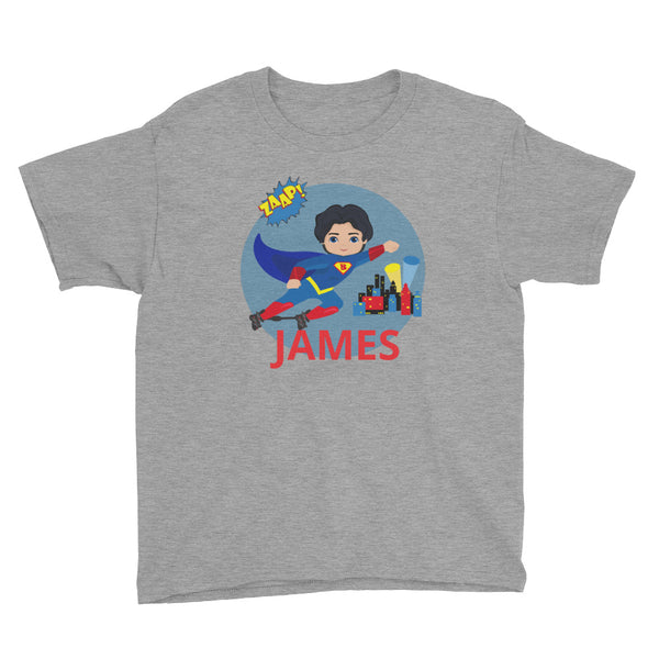 Superhero BNB (4) - Custom - Youth Short Sleeve T-Shirt