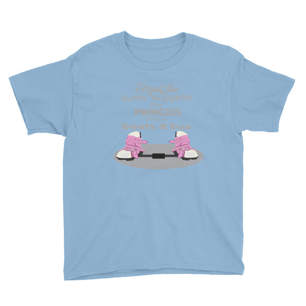 Forget the Glass Slippers BNB - Youth Short Sleeve T-Shirt