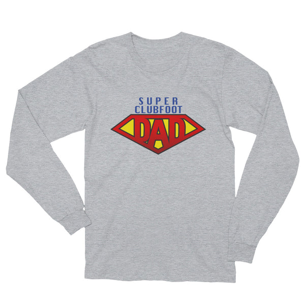 Super CLubfoot Dad - Man's Long Sleeve T-Shirt