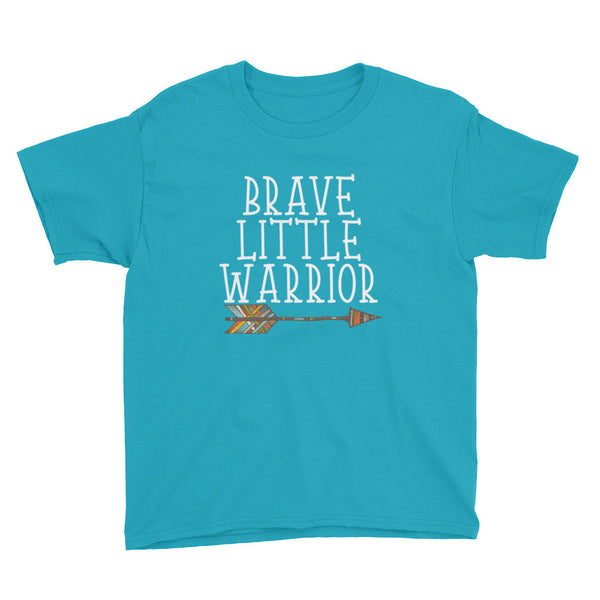 Brave Little Warrior - Youth Short Sleeve T-Shirt