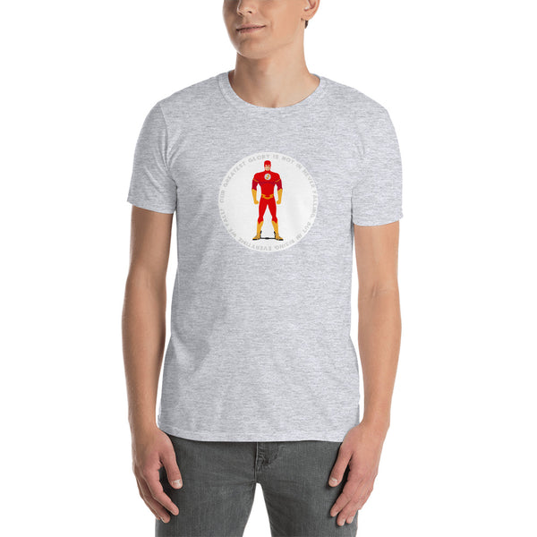Superhero iin a Flash - Short-Sleeve Unisex T-Shirt