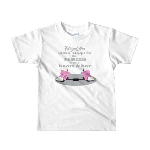 Forget the Glass Slippers BNB - Short sleeve toddler t-shirt