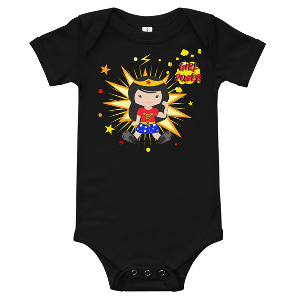 Wonder Women Babygirl - World Clubfoot Day - Baby Onesie