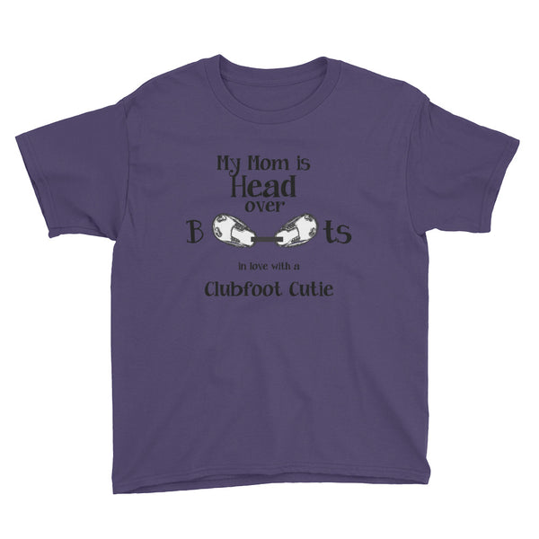 Head Over Boots - Youth Short Sleeve T-Shirt