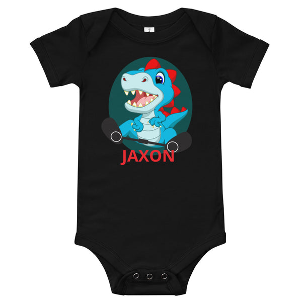Dino (RED) - Custom - Baby Onesie