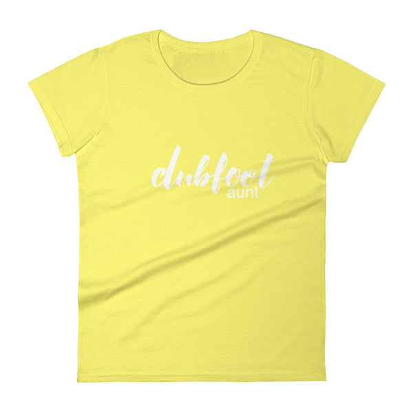 Clubfoot Aunt - Family  - Women's short sleeve t-shirt