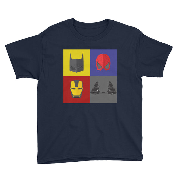 Superhero Clubfoot - BNB - Youth Short Sleeve T-Shirt