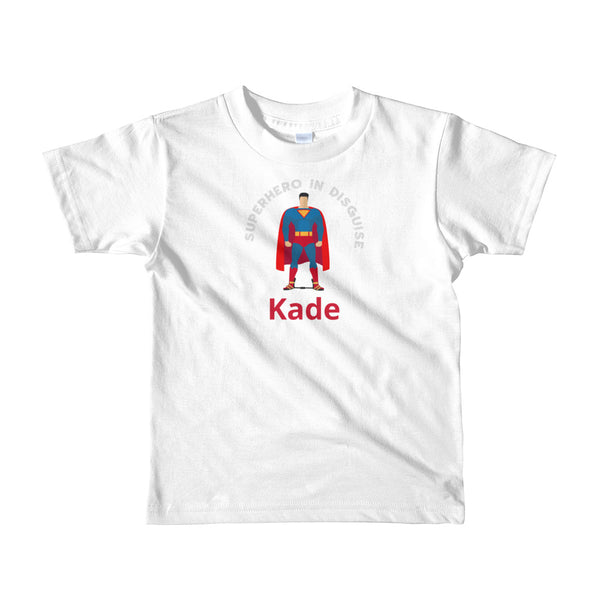 Superhero in disguise - Custom - Short sleeve kids t-shirt