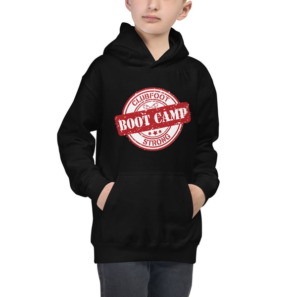 Clubfoot Boot Camp  Youth Hoodie