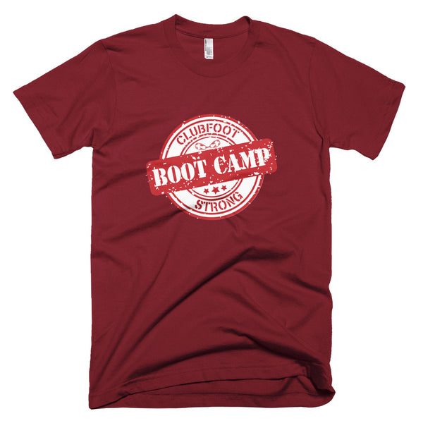 Clubfoot Boot Camp - Unisex Man Women T-Shirt