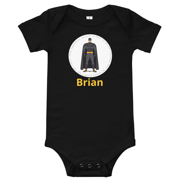 Superhero Glory batman - Custom - Baby Onesie