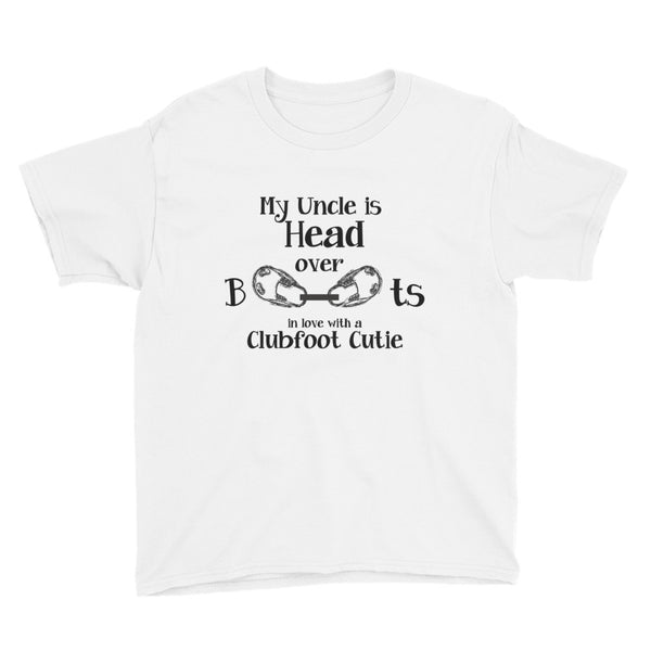 Head over Boots -  MY UNCLE - Youth Short Sleeve T-Shirt