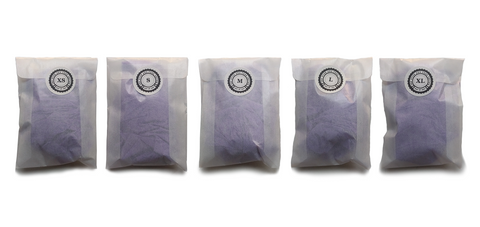 Different nitrile glove packets