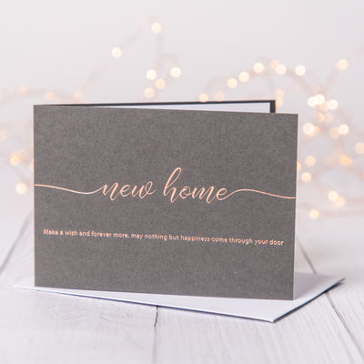 Image of a new home greeting card