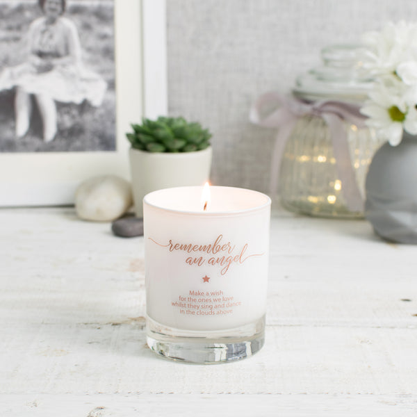 Make a Wish to Remember an Angel Candle (Bereavement) - makeawishcandleco