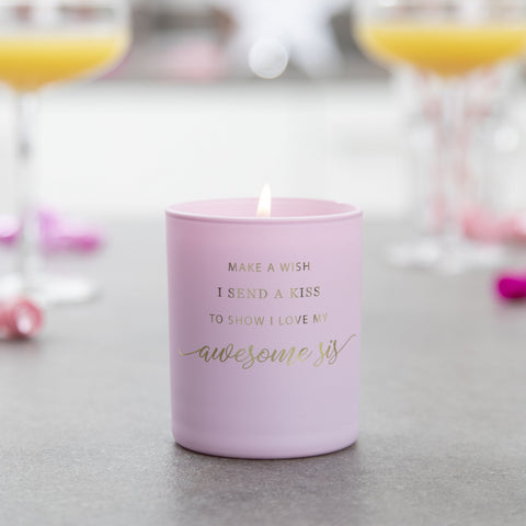 Sister Birthday Candle - makeawishcandleco