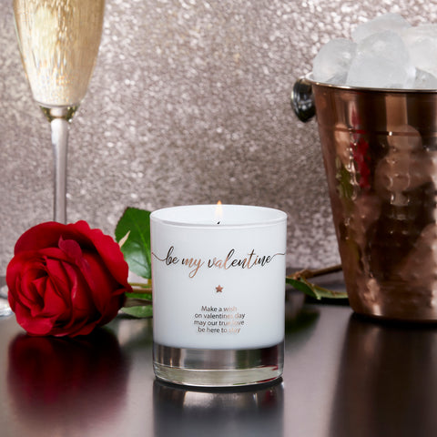 Make a Wish - Be My Valentine Candle - makeawishcandleco