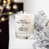 Make a Wish for a Baby's First Christmas Candle - makeawishcandleco
