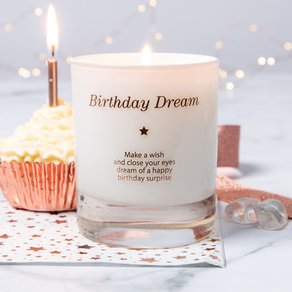 Make a Wish For a Birthday Dream Candle