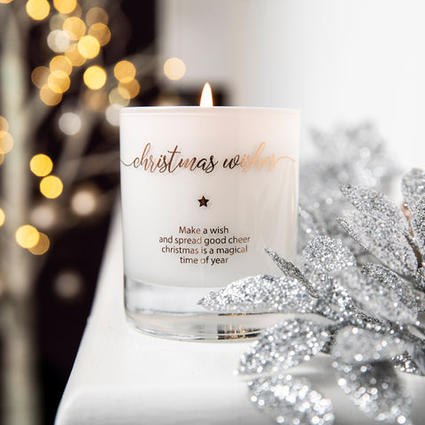 Make a Wish - Christmas Wishes Candle