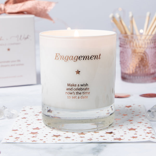 Make a Wish for an Engagement Candle