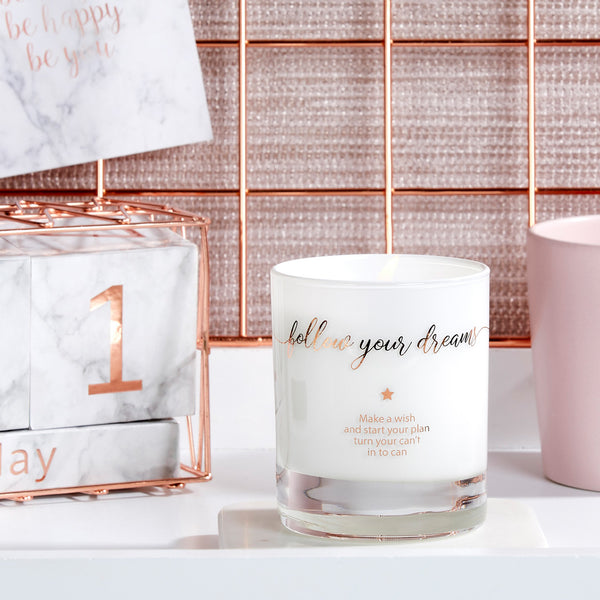 Make a Wish and Follow Your Dreams Candle - makeawishcandleco