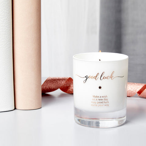 Make a Wish For Good Luck Candle - makeawishcandleco